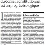 Vers une meilleure consécration de l'écofiscalité après l'inconstitutionnalité de la taxe carbone ?