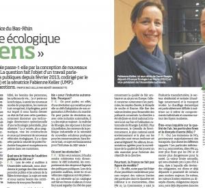 La revue Acteurs Urbains et wk-transport-logistique.fr reviennent sur mon rapport au sujet des véhicules écologiques
